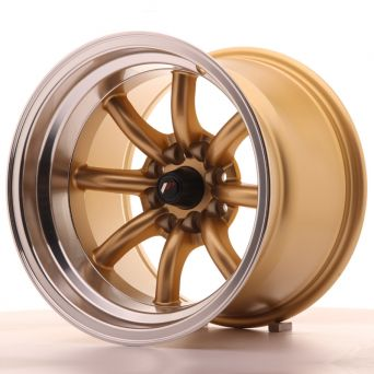 Japan Racing Wheels - JR-19 Gold (15x10.5 inch)