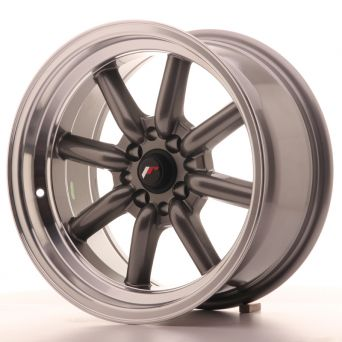 Japan Racing Wheels - JR-19 Gun Metal (16x8 inch)