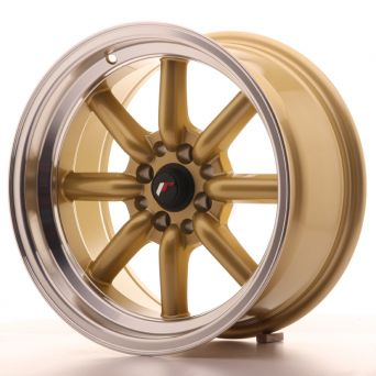 Japan Racing Wheels - JR-19 Gold (16x8 inch)