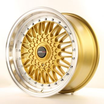 Japan Racing Wheels - JR-9 Gold (17 Zoll)