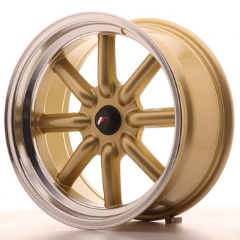 Japan Racing Wheels - JR-19 Gold (17x8 inch)