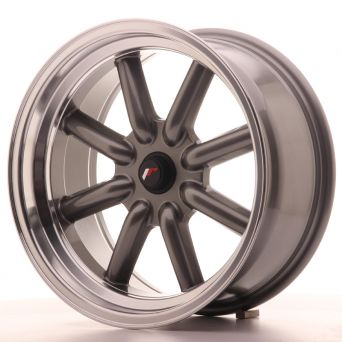 Japan Racing Wheels - JR-19 Gun Metal (17x8 inch)