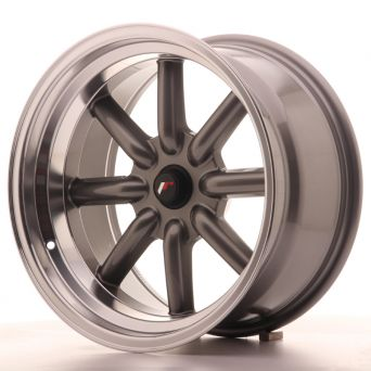 Japan Racing Wheels - JR-19 Gun Metal (17x9 inch)