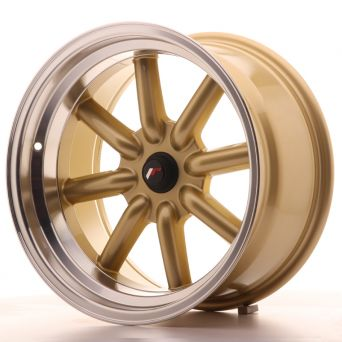 Japan Racing Wheels - JR-19 Gold (17x9 inch)