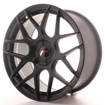 Japan Racing Wheels - JR-18 Matt Black (18x8.5 inch)