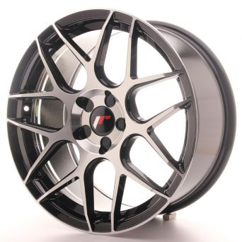 Japan Racing Wheels - JR-18 Black Machined (18x8.5 inch)