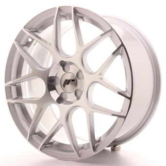 Japan Racing Wheels - JR-18 Silver Machined (18x8.5 inch)