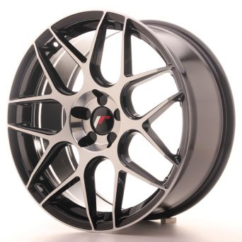 Japan Racing Wheels - JR-18 Black Machined (19x8.5 inch)