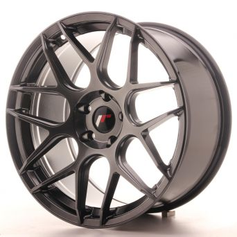 Japan Racing Wheels - JR-18 Hyper Black (19x9.5 inch)
