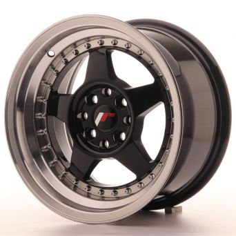 Japan Racing Wheels - JR-6 Glossy Black (15 inch)