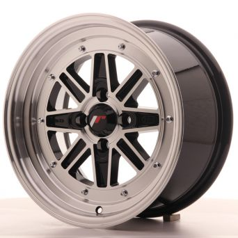 Japan Racing Wheels - JR-31 Black Machined (15x7.5 inch)
