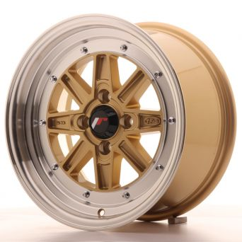 Japan Racing Wheels - JR-31 Gold (15x7.5 inch)