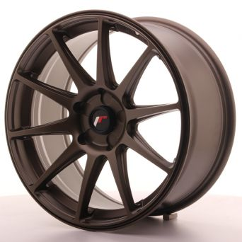 Japan Racing Wheels - JR-11 Dark Bronze (18x8.5 inch)