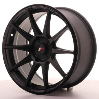 Japan Racing Wheels - JR-11 Matt Black (18x8.5 inch)