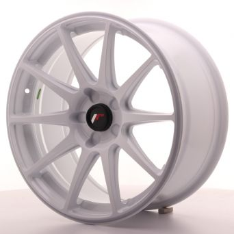 Japan Racing Wheels - JR-11 White (18x8.5 inch)