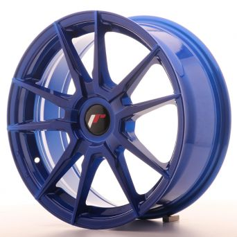 Japan Racing Wheels - JR-21 Plat Blue (17x7 inch)