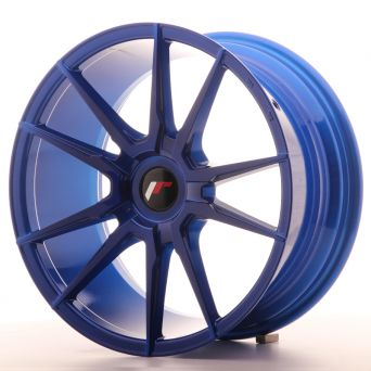 Japan Racing Wheels - JR-21 Plat Blue (18x8.5 inch)