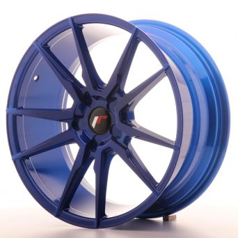 Japan Racing Wheels - JR-21 Plat Blue (19x8.5 inch)