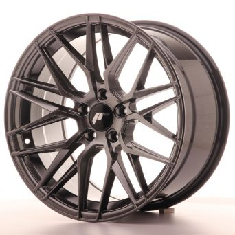 Japan Racing Wheels - JR-28 Hyper Black (18x9.5 inch)