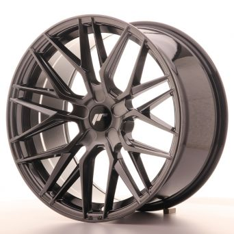 Japan Racing Wheels - JR-28 Hyper Black (19x9.5 inch)