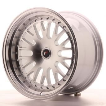 Japan Racing Wheels - JR-10 Silver Machined (18x10.5 Zoll)