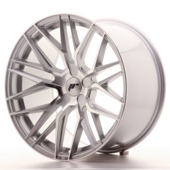 Japan Racing Wheels - JR-28 Silver Machined (19x10.5 inch)