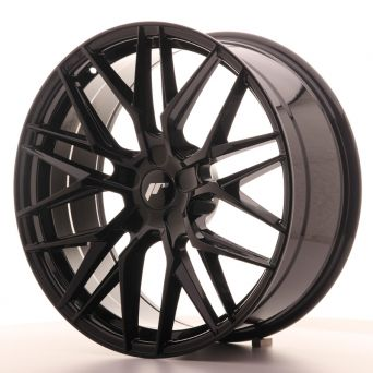 Japan Racing Wheels - JR-28 Glossy Black (20x8.5 inch)