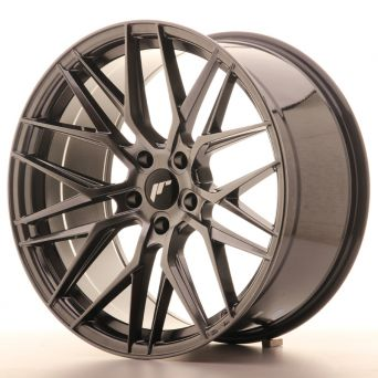 Japan Racing Wheels - JR-28 Hyper Black (20x10 inch)