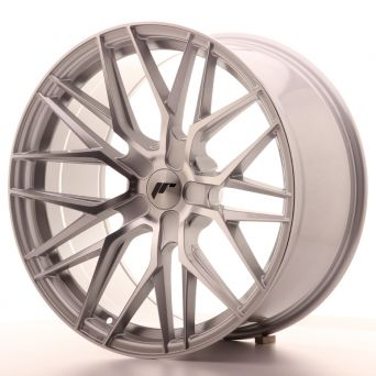 Japan Racing Wheels - JR-28 Silver Machined (20x10 inch)