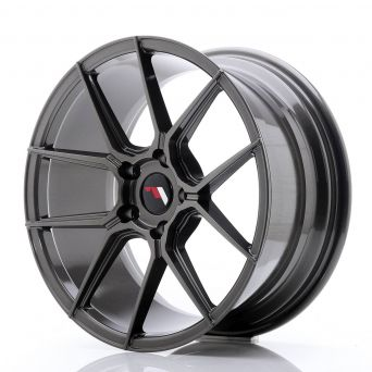 Japan Racing Wheels - JR-30 Hyper Black (18x8.5 inch)