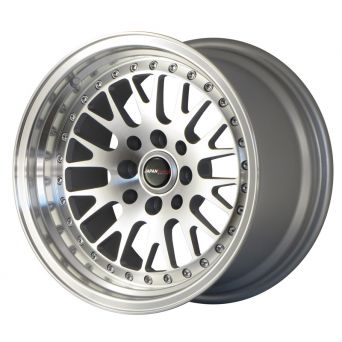 Japan Racing Wheels - JR-10 Machined Silver (15 inch)
