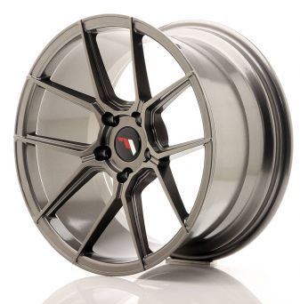 Japan Racing Wheels - JR-30 Hyper Black (18x9.5 Zoll)