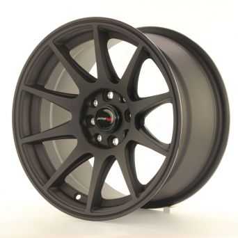 Japan Racing Wheels - JR-11 Matt Black (15 inch)