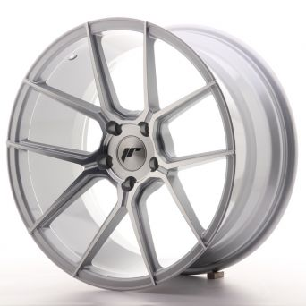 Japan Racing Wheels - JR-30 Silver Machined (19x9.5 inch)