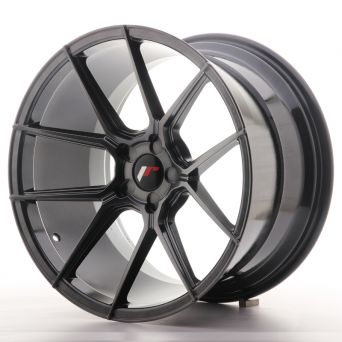 Japan Racing Wheels - JR-30 Hyper Black (19x11 inch)