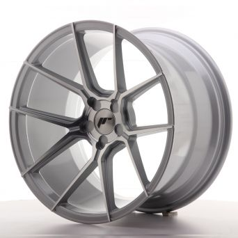 Japan Racing Wheels - JR-30 Silver Machined (19x11 inch)