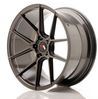 Japan Racing Wheels - JR-30 Hyper Black (20x10 inch)