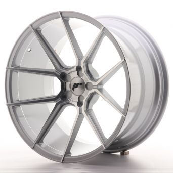 Japan Racing Wheels - JR-30 Silver Machined (20x11 inch)