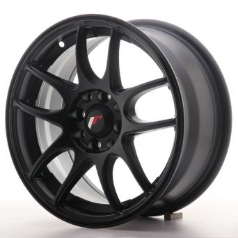 Season Sale - Japan Racing Wheels - JR-29 Matt Black (15x7 inch)