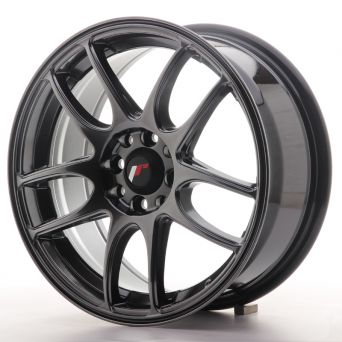Japan Racing Wheels - JR-29 Hiper Black (16x7 inch)