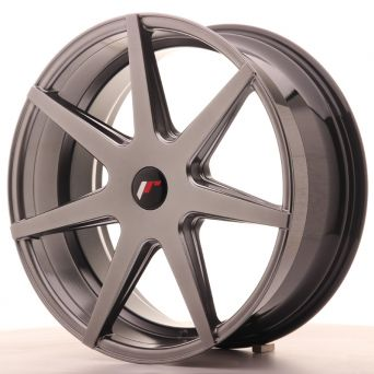 Japan Racing Wheels - JR-20 Hiper Black (20x8.5 Zoll)
