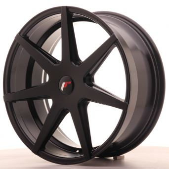Japan Racing Wheels - JR-20 Matt Black (20x8.5 Zoll)