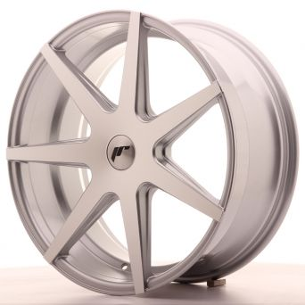 Japan Racing Wheels - JR-20 Silver Machined (20x8.5 Zoll)