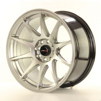 Japan Racing Wheels - JR-11 Hyper Black (15 inch)
