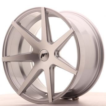 Japan Racing Wheels - JR-20 Silver Machined (20x10 Zoll)