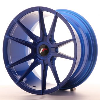 Japan Racing Wheels - JR-21 Plat Blue (18x9.5 inch)