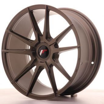 Japan Racing Wheels - JR-21 Matt Bronze (18x8.5 inch)