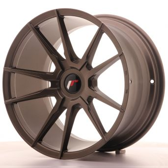 Japan Racing Wheels - JR-21 Matt Bronze (18x9.5 inch)