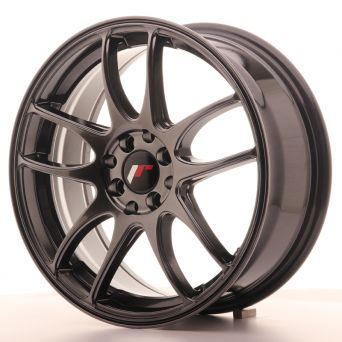 Japan Racing Wheels - JR-29 Hyper Black (17x7 inch)