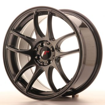 Japan Racing Wheels - JR-29 Hyper Black (17x8 inch)